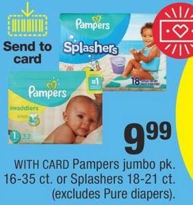 Pampers & Tide P&G CVS Deal $1.97 - 7/21-7/27
