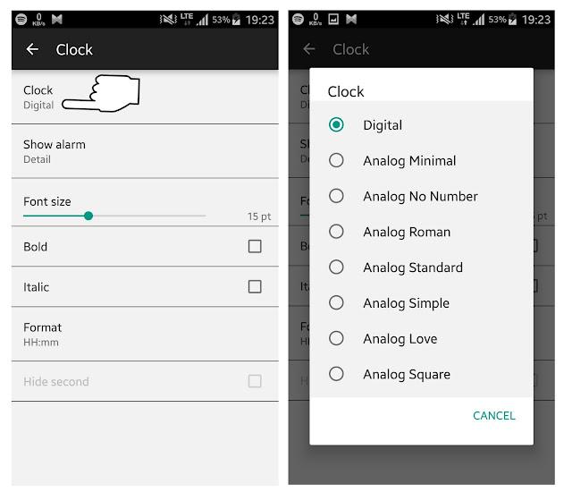 Cara mendapatkan fitur glance screen lumia di android
