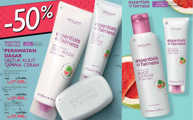 Essentials Fairness Face & Body
