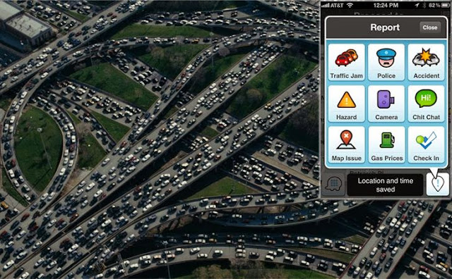 Popular Navigation App with Bots traffic Jam