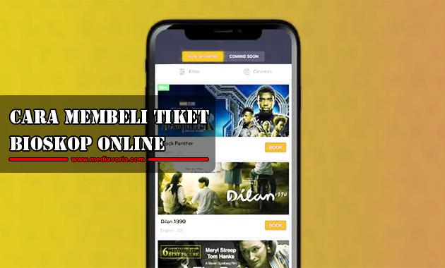 Cara Membeli Tiket Bioskop Online