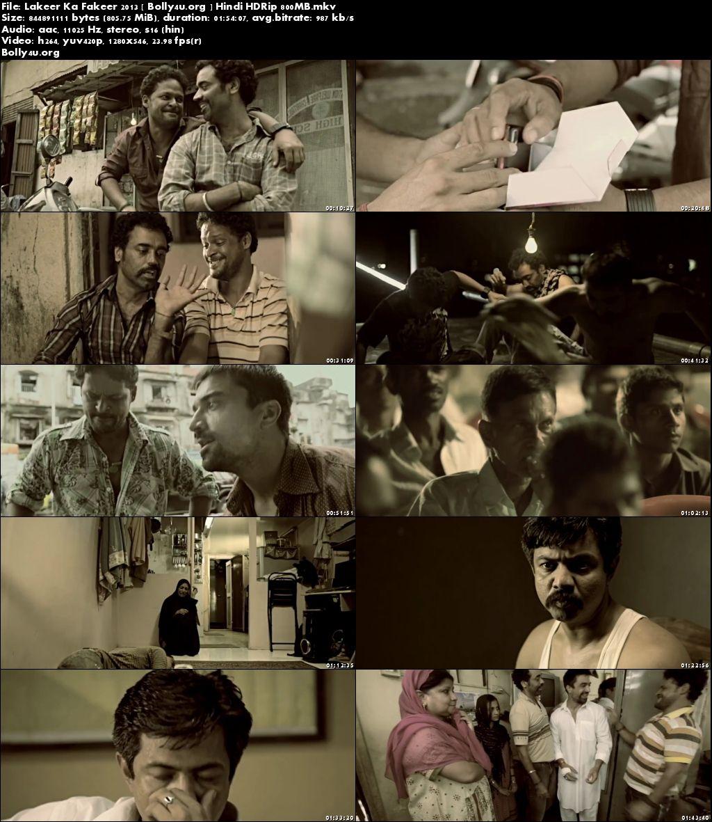 Lakeer Ka Fakeer 2013 HDRip 800MB Hindi Movie 720p Download