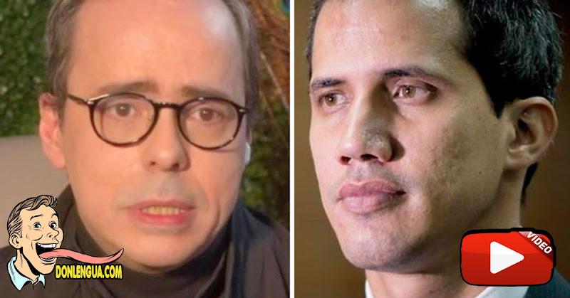 J.J. Rendón afirma que fue despedido de la oposición por su apoyo al uso de la fuerza contra Maduro