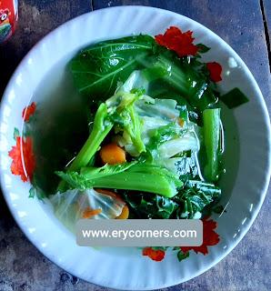 Sayur Sop Sederhana
