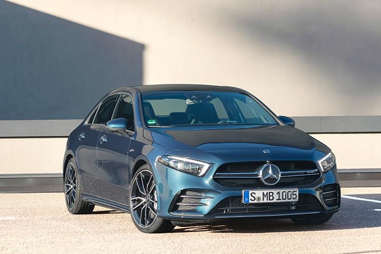 Chi tiết Mercedes-AMG A 35 4MATIC hơn 2,2 tỷ tại Việt Nam
