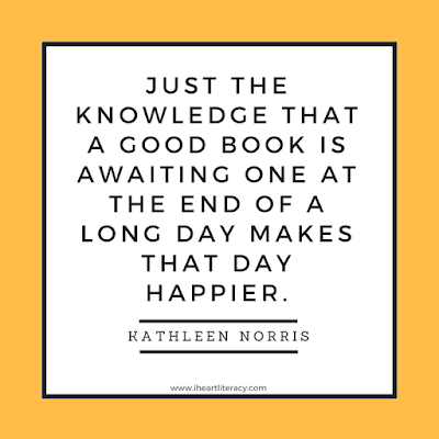 Just the knowledge that a good book is awaiting one at the end of a long day makes that day happier.