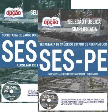 Apostila Secretaria Estadual de Saúde - SES/PE 2018