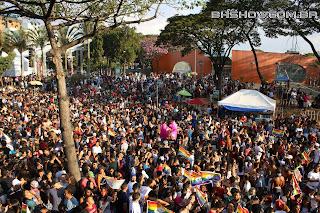 IMG 9931 - 13ª Parada do Orgulho LGBT Contagem reuniu milhares de pessoas