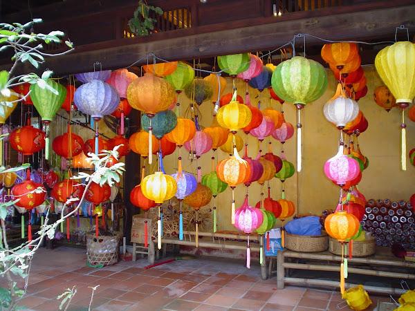 Farolillos en Hoi An, Vietnam