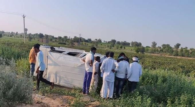 बिरकाली गांव के पास हुआ सड़क हादसा