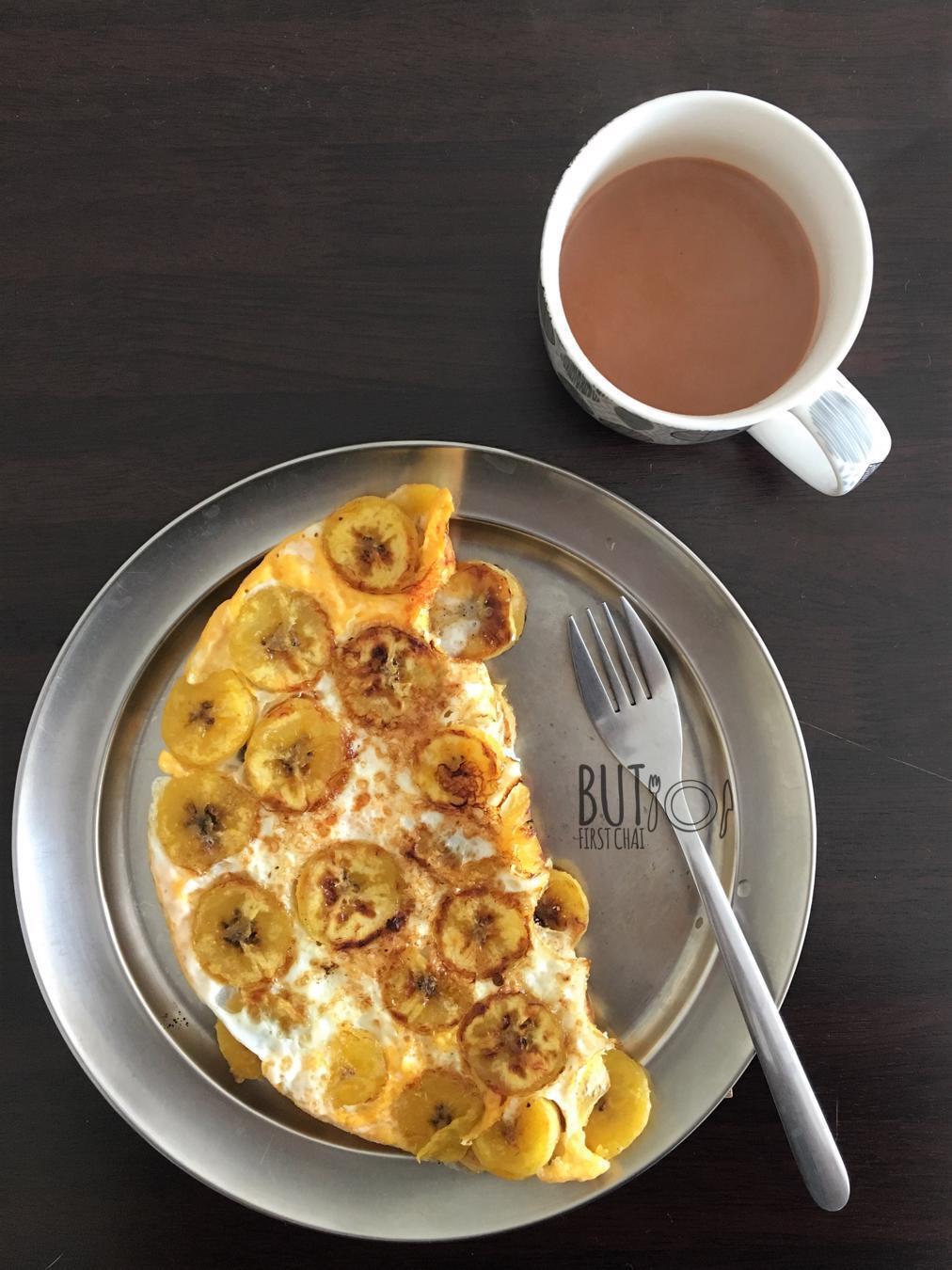 Kai Vatiyathu   Pan Roasted Ripe Plantains with Eggs