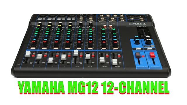 Spesifikasi Mixer Yamaha MG12 12 channel