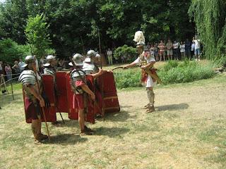 római legionárius