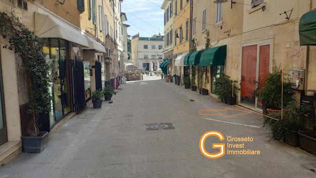 Grosseto Invest Agenzia Immobiliare - Via Ricasoli affitto negozio