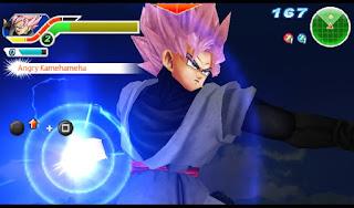 blockir iklan sebelum mendownload agar tidak terjadi error saat mendownloadnya Download Mod Texture SS Goku [Black Goku Rose] DBZ TTT For Emulator PPSSPP