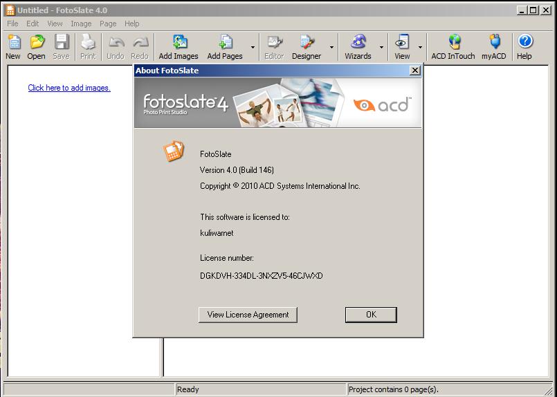 Cara Instal ACD FotoSlate Photo Print Studio 4.0.146 dan ...