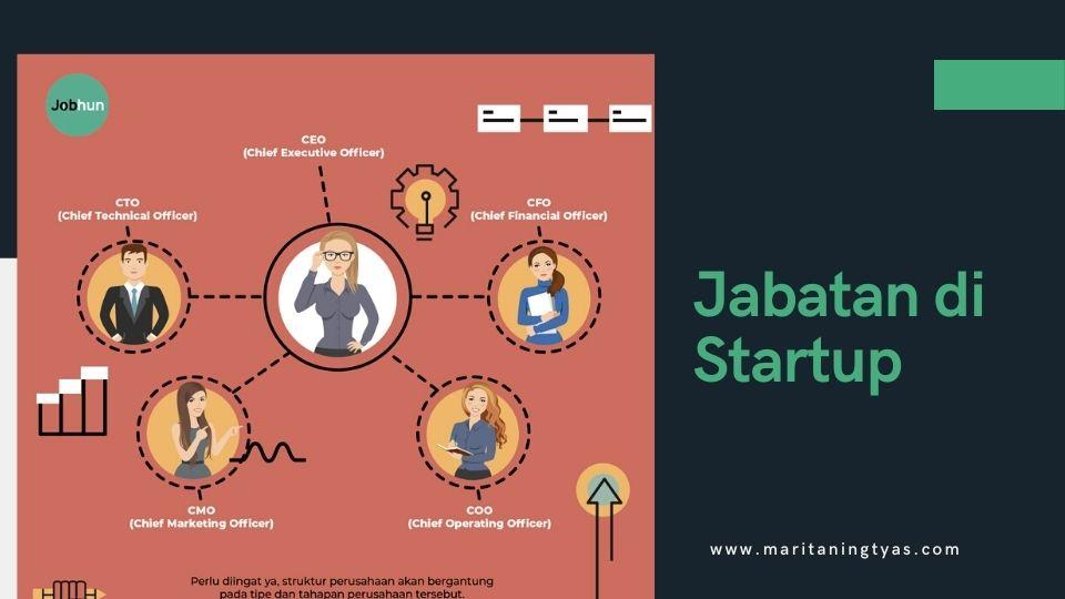 jabatan di startup