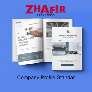 Cetak Company Profile Standar