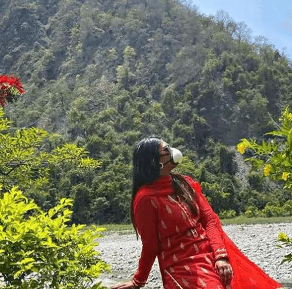 देहरादून की वादियों में खो गईं Mohena Kumari Singh