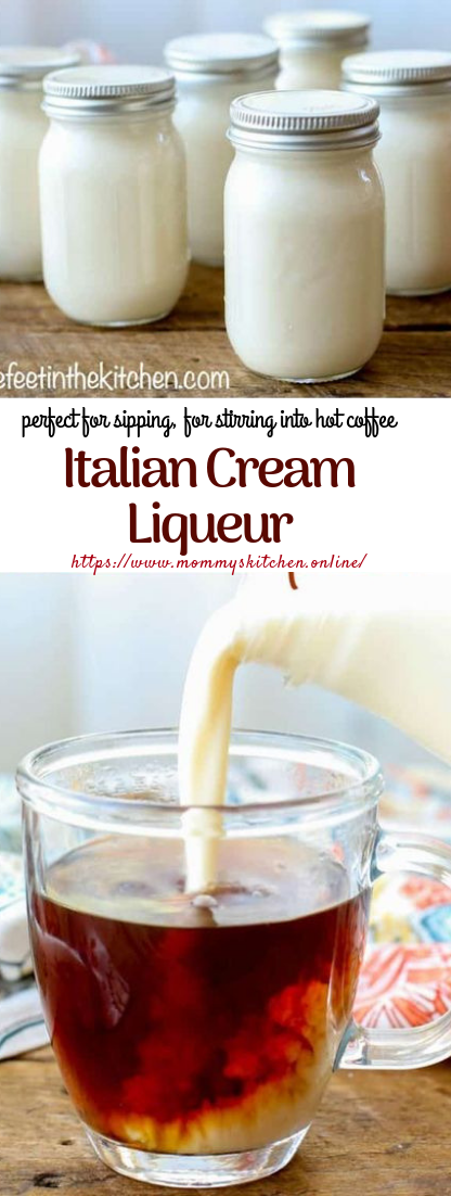 Italian Cream Liqueur #creamy #smoothie