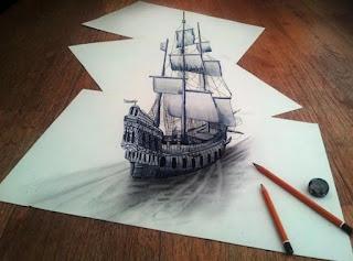 Pengertian Karya Seni Rupa 3 Dimensi Dan Contoh Gambar 3 Dimensi