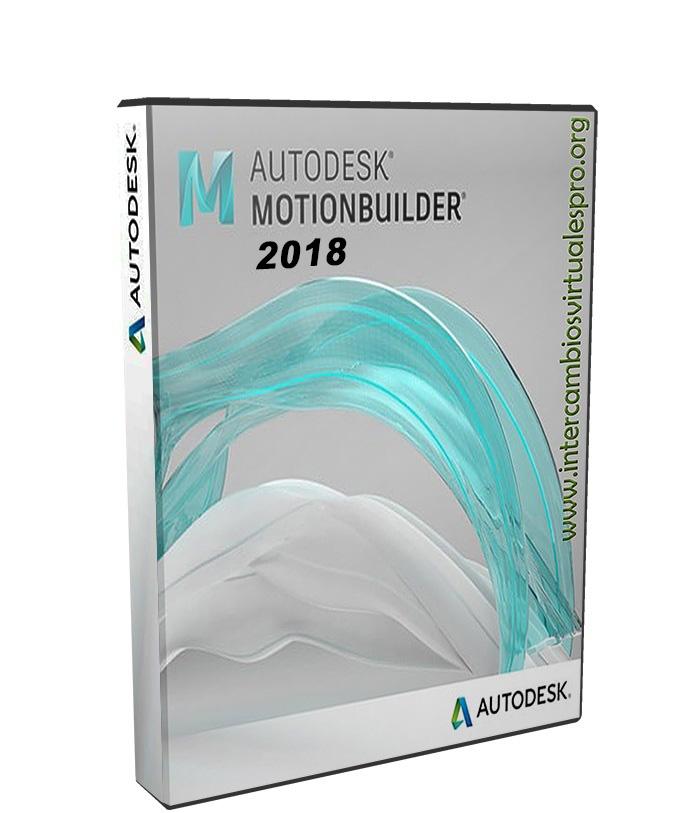 Autodesk MotionBuilder 2018 poster box cover