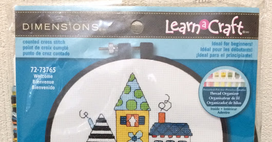 Giveaway: Learn a Craft Cross stitch Kit