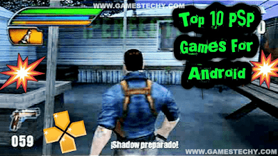 Best 10 PPSSPP Games For Android