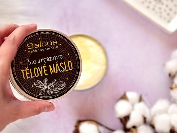 Saloos Bio Arganové Telové Maslo