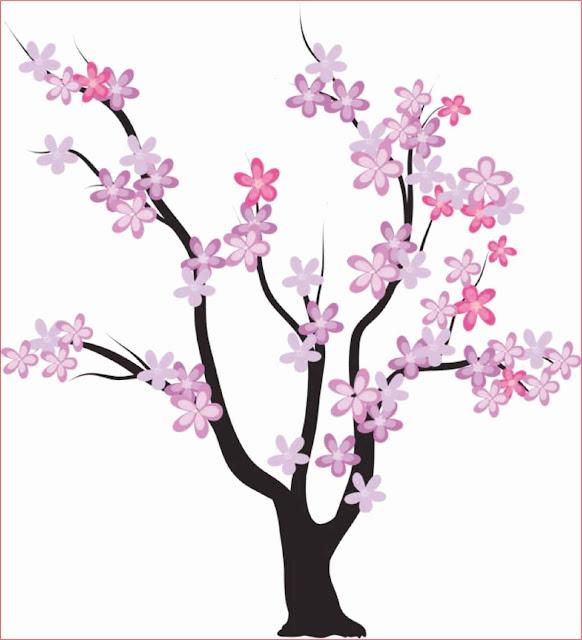 sketsa-bunga-sakura