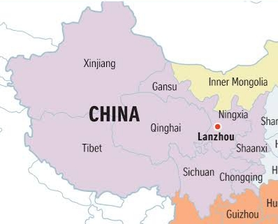 Western Theater Command sandwiched between Laddak and Xinjiang Islamic movement