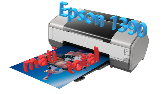 Memperbaiki Printer Epson 1390 MATI TOTAL