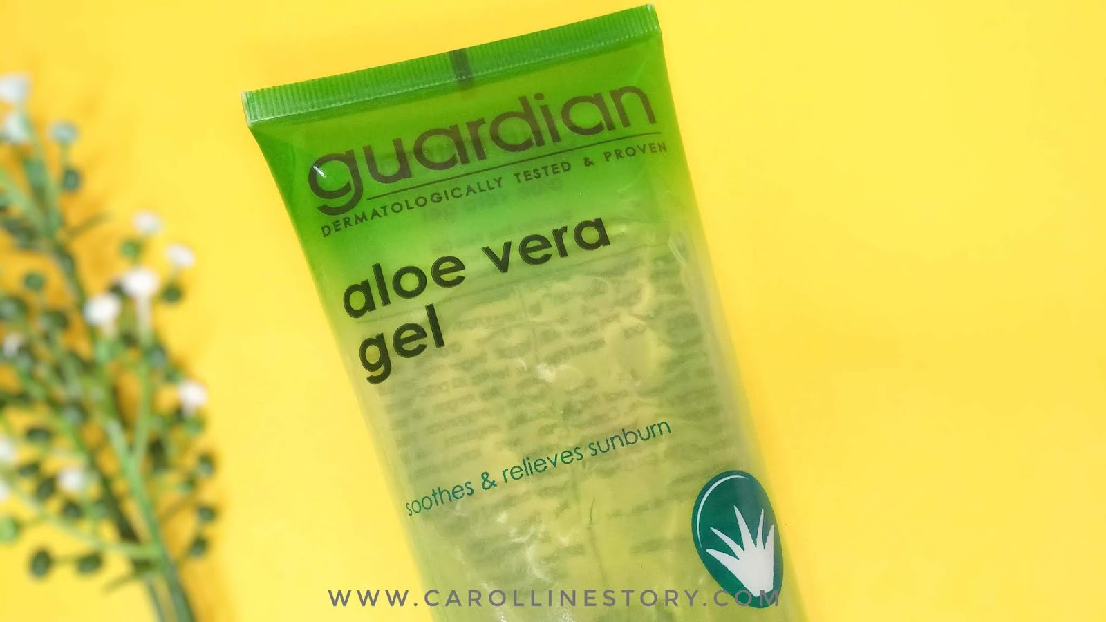 Review Guardian Aloe Vera Gel Untuk Jerawat