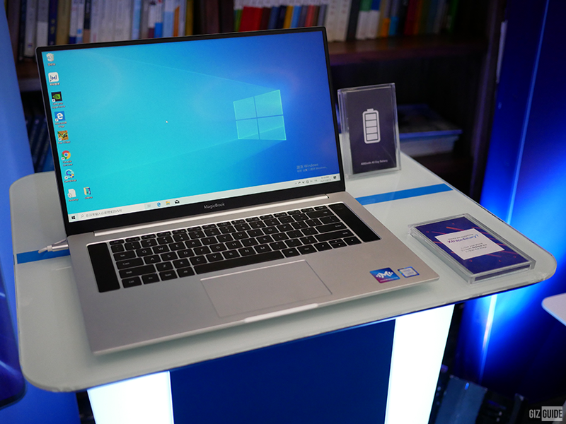 HONOR MagicBook to go official in PH early next year