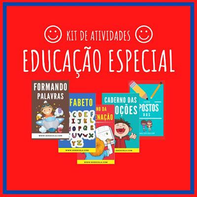 E-book/KIT EDUCAÇÃO ESPECIAL