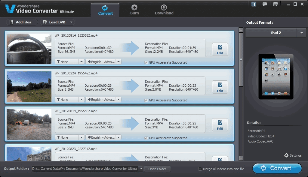 Wondershare Video Converter Ultimate 9.0