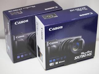 コンパクトデジタルカメラを買い取りました キヤノンSX730HS 未使用品