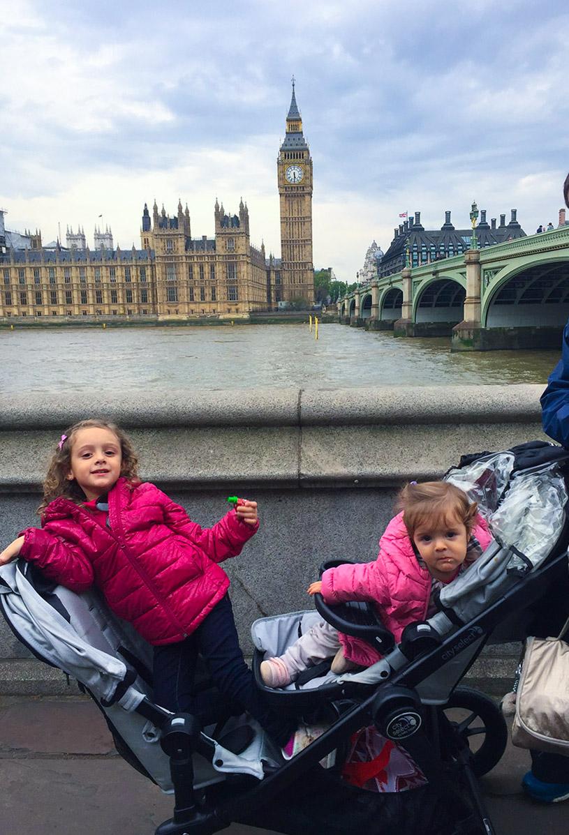 Visitando Londres com crianças pequenas