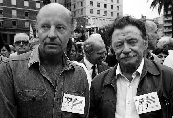 Eduardo Galeano y Mario Benedetti | Textos, Artículos y Libros