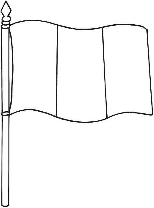 bandera gay para colorear