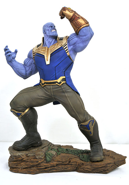 Diamond Select MARVEL MOVIE MILESTONES INFINITY WAR THANOS STATUE 001
