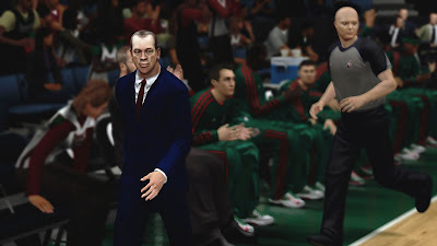 NBA 2K13 Mods Jim Boylan Face Patch