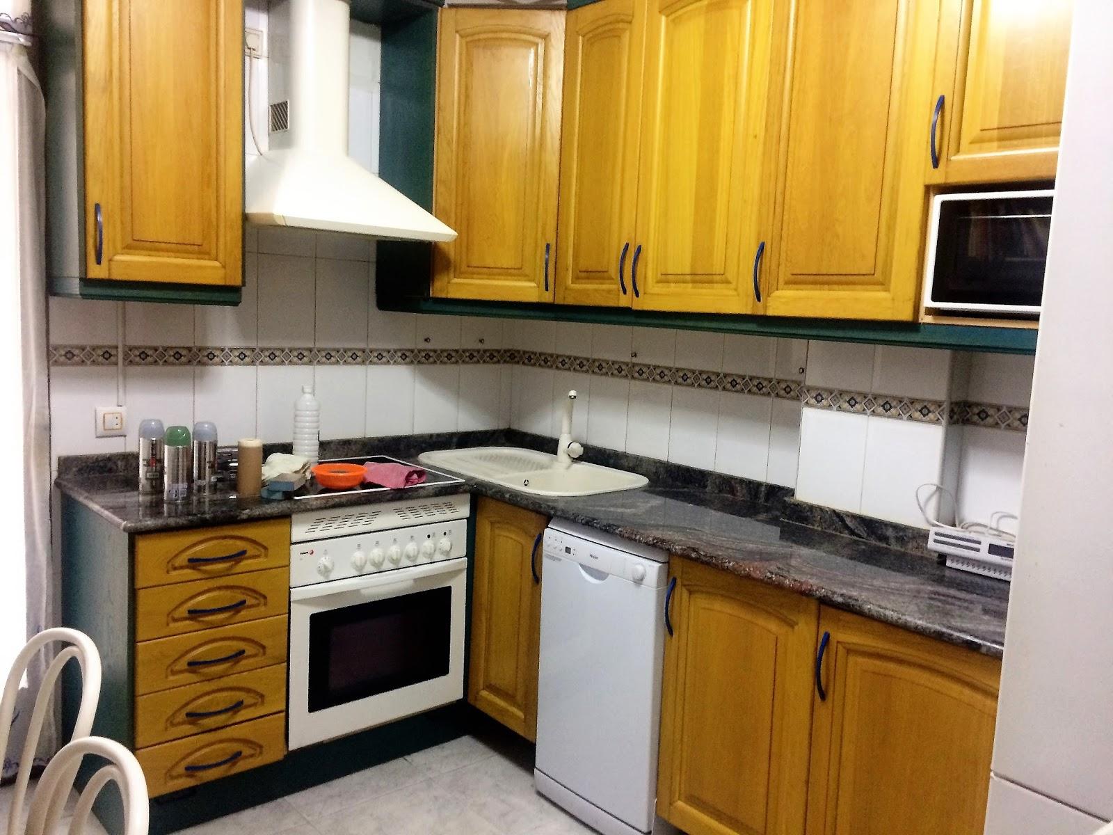 El Rincón de la Creación: DIY. Como transforme mi cocina.
