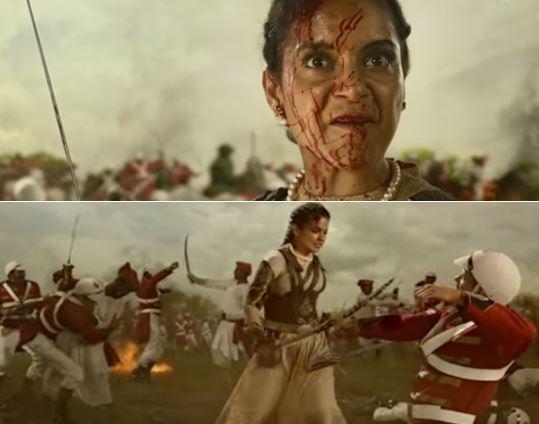 झांसी की रानी लक्ष्मीबाई पर बनी फ़िल्म 'मणिकर्णिका' रिलीज़ को है तैयार देखे ट्रेलर !