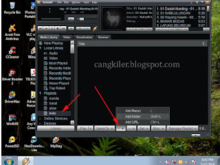 Cara Menbuat Playlists DI Winamp