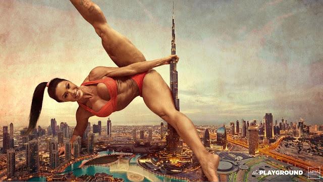 Gracyanne Barbosa - Burj Khalifa