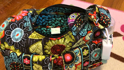 vera bradley backpack diaper bag