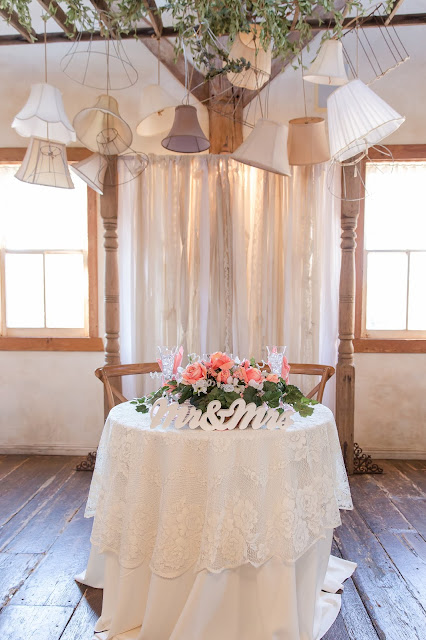 Dining Area Sweetheart Table at Shenandoah Mill