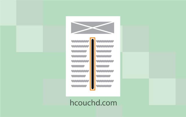 indesign إضافة ميزة قواعد الأعمدة
