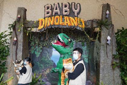 Lucunya! Ada Baby Dinosaurus di Dufan Ancol